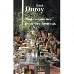 Roman, francophone, Lionel Duroy, Julliard, Jean-Pierre Longre