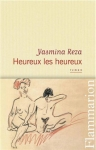 Roman, francophone, Yasmina Reza, Flammarion, Jean-Pierre Longre