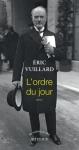 Récit, Histoire, francophone, Éric Vuillard, Actes Sud, Jean-Pierre Longre