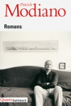 Roman, francophone, Patrick Modiano, Gallimard, Jean-Pierre Longre