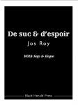 Poésie, francophone, Jos Roy, Blandine Longre, Paul Stubbs, Black Herald Press, Jean-Pierre Longre